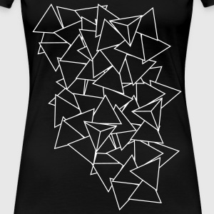 triangles T-Shirts - Frauen Premium T-Shirt