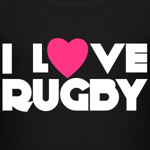 I Love Rugby T-Shirts - Teenager Premium T-Shirt