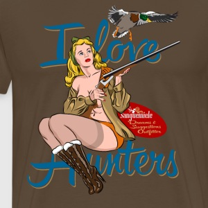 i_love_hunters T-Shirts - Men's Premium T-Shirt