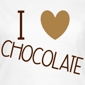 I Love Chocolate T-skjorter - T-skjorte for kvinner