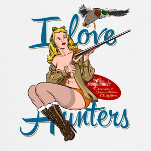 i_love_hunters Tabliers - Tablier de cuisine