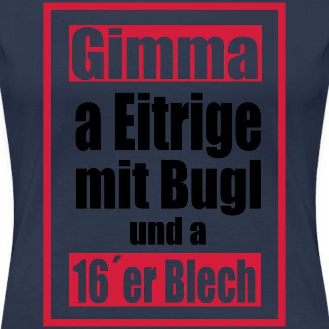 Eitrige mit Bugl