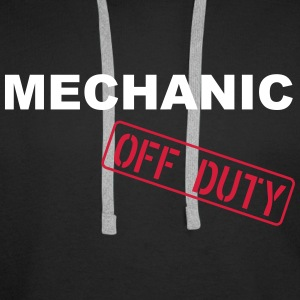 Mechanic Off Duty Hoodies & Sweatshirts - Men's Premium Hoodie