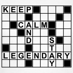 keep_calm_stay_legendary_g1 T-Shirts