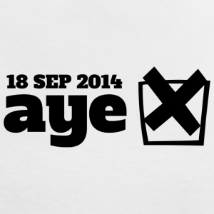 Vote Aye T-Shirts - Women's Ringer T-Shirt