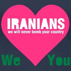 Iran Loves You T-Shirts - Frauen Premium T-Shirt