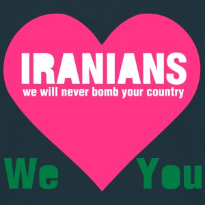 Iran Loves You T-Shirts - Männer T-Shirt