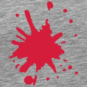 blood splatter 2 T-Shirts - Men's Premium T-Shirt