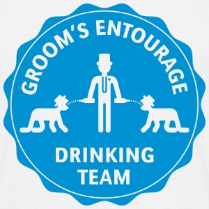 Groom's Entourage – Drinking Team T-Shirts - Men's T-Shirt