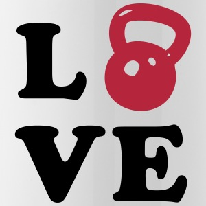 Love Kettlebell - Water Bottle