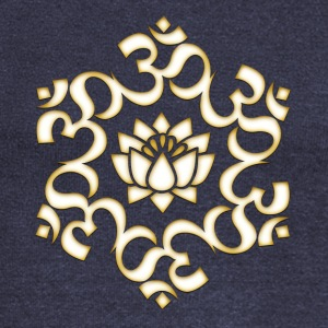 Om Lotus, Buddhism, Yoga, Meditation, spiritual Hoodies & Sweatshirts - Women's Boat Neck Long Sleeve Top