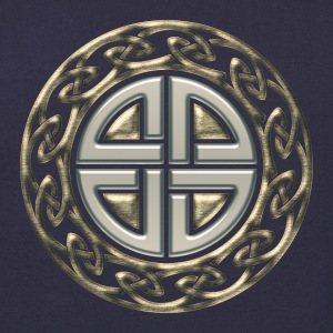 Celtic shield knot, Protection Amulet, Viking Hoodies & Sweatshirts - Men's Sweatshirt