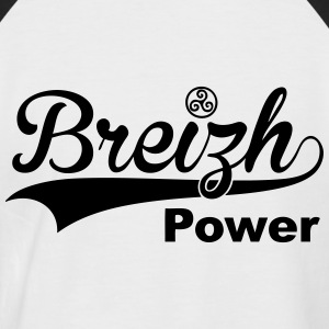 breizh power Tee shirts - T-shirt baseball manches courtes Homme