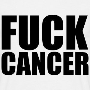 Fuck Cancer T-shirts - Herre-T-shirt