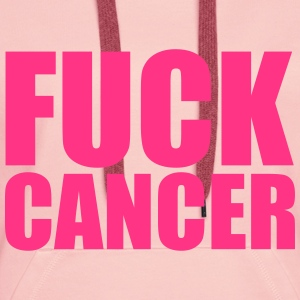 Fuck Cancer Sweat-shirts - Sweat-shirt à capuche Premium pour femmes