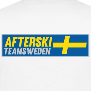 After Ski Team Sweden wide logo shirts - Premium-T-shirt herr