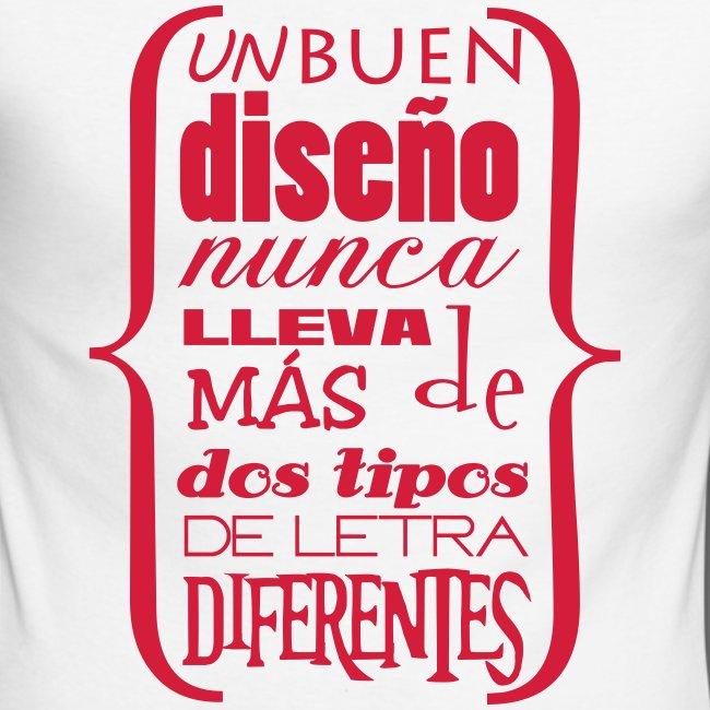 "Camiseta ""tipos de letra"""