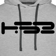 Design ~ Mens Heather Grey Hoodie