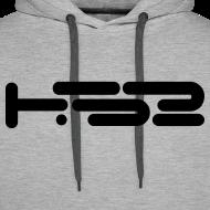 Design ~ Mens Heather Grey Hoodie
