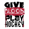 Give Blood, play Hockey T-Shirts - Männer Premium T-Shirt
