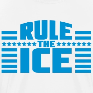 Hockey - Rule the ice Magliette - Maglietta Premium da uomo