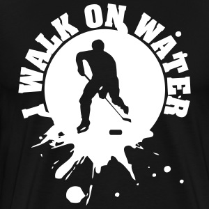 I walk on water T-skjorter - Premium T-skjorte for menn