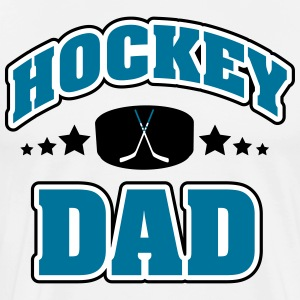 Hockey Dad Tee shirts - T-shirt Premium Homme