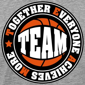 TEAM: Together Everyone Achieves More T-Shirts - Männer Premium T-Shirt