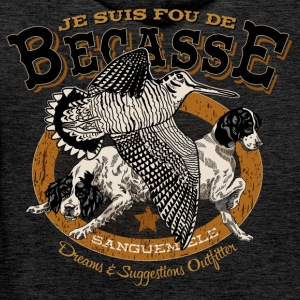 fou_becasse Sweat-shirts - Sweat-shirt à capuche Premium pour hommes