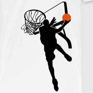 Basketball T-shirts - Herre premium T-shirt