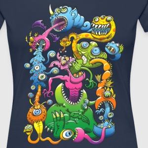 Monstrously Messy T-Shirts - Women's Premium T-Shirt
