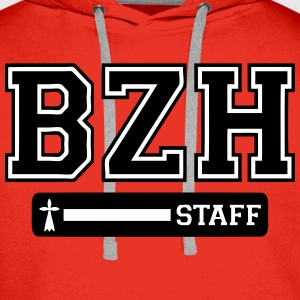 breizh staff logo Sweat-shirts - Sweat-shirt à capuche Premium pour hommes