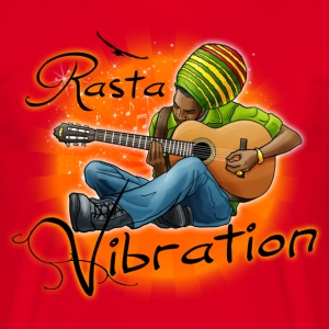 rasta vibration T-Shirts - Men's T-Shirt
