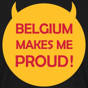 Belgium makes me proud ! Tee shirts - T-shirt Homme