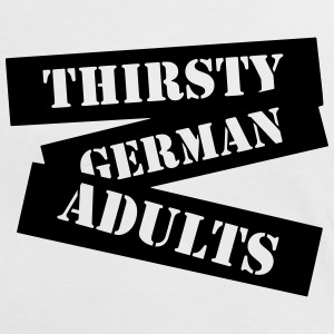 Thirsty German Adults T-Shirts - Frauen Kontrast-T-Shirt