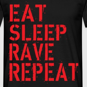 Eat Rave Sleep T-Shirts - Männer T-Shirt