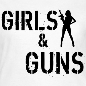Girls & Guns T-skjorter - T-skjorte for kvinner