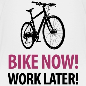Teenagershirt Bike now! Work later! Party hard! - Teenager Premium T-Shirt