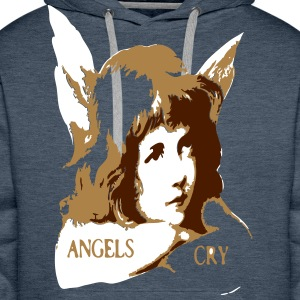 angels cry Sweaters - Mannen Premium hoodie