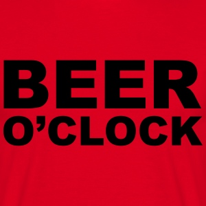 Beer O'clock T-Shirts - Men's T-Shirt