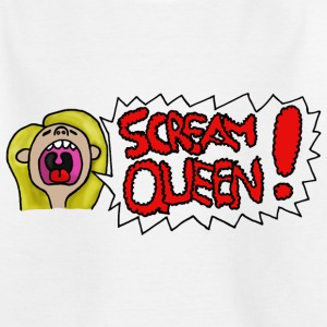 Scream Queen - Kinder T-Shirt