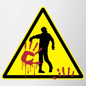 warning_zombies_sign_102013_a_3c Flaschen & Tassen - Tasse
