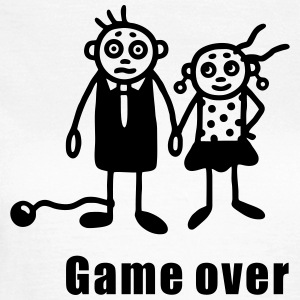 Bryllup - Game Over T-shirts - Dame-T-shirt