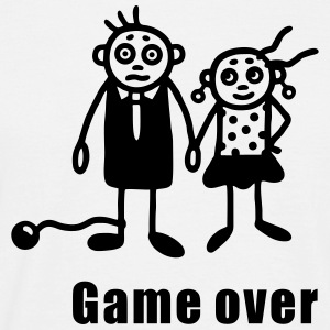 Bryllup - Game Over T-shirts - Herre-T-shirt