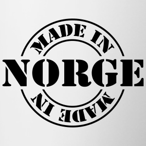 made_in_norge_m1 Bottles & Mugs - Contrasting Mug