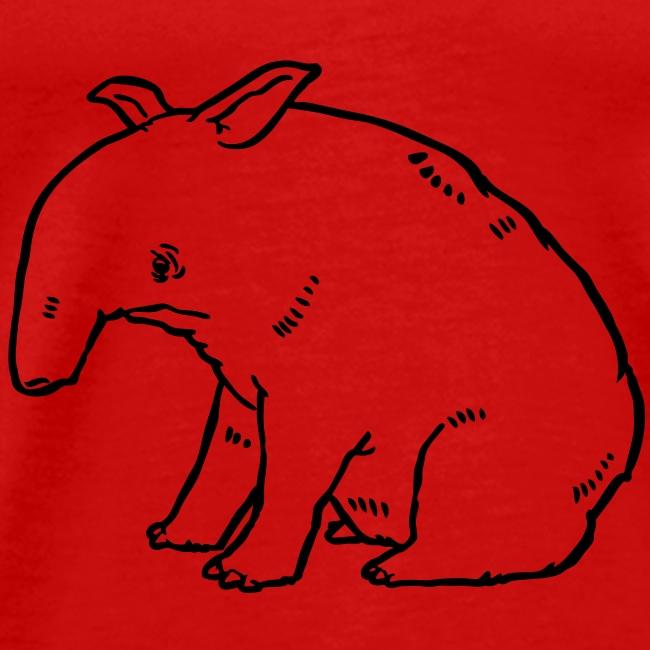 Tapir solo dunkel