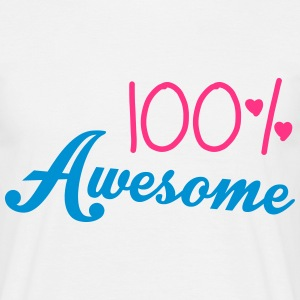 100% Awesome T-Shirts - Männer T-Shirt