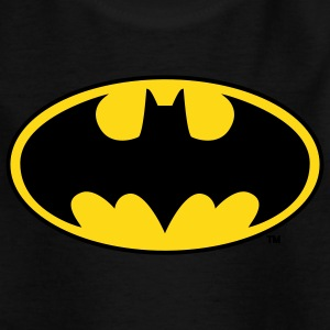 Batman Logo Gelb Teenager T-Shirt - Teenager T-Shirt