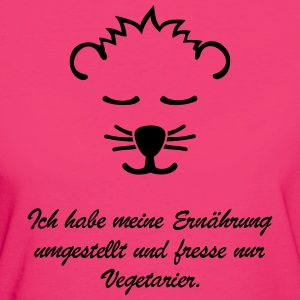 Vegetarier  - Frauen Bio-T-Shirt