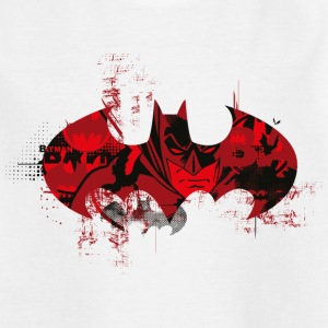 Batman Logo Rot Teenager T-Shirt - Teenager T-Shirt